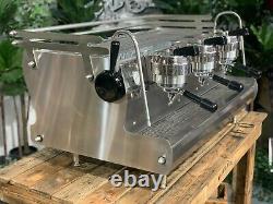 Synesso Cyncra 3 Groupe En Acier Inoxydable Espresso Machine À Café Café Commercial