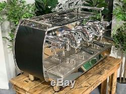 Victoria Arduino Adonis 3 Groupe Noir Espresso Machine À Café Bar Commercial