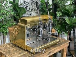 Victoria Arduino Athena Leva 2 Groupe Or Espresso Machine À Café Commercial Bar
