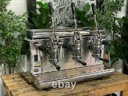 Victoria Arduino Athena Leva 3 Groupe Silver Espresso Coffee Machine Commercial