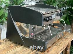 Visacrem Brava 1 Groupe Black Espresso Machine À Café Commercial En Gros Café