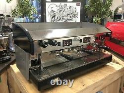 Wega Atlas 3 Groupe Black Grey Espresso Machine À Café Commercial En Gros Café