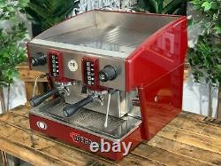 Wega Atlas Compact Evd 2 Groupe Red Espresso Coffee Machine Commercial Wholesale