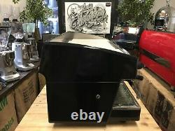 Wega Atlas Evd Black 3 Groupe Espresso Machine À Café Commercial Cafe Office