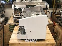 Wega Atlas Evd White 3 Groupe Espresso Machine À Café Restaurant Café Haricots Latte