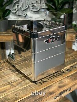Wega Mininova Group Classic 1 Marque Accents Bois Machine À Café Espresso