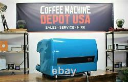Wega Polaris 2 Group Dans Lagoon Blue Commercial Espresso Coffee Machine