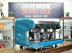 Wega Polaris 2 Groupe Blue Lagoon Commercial Machine À Café Espresso