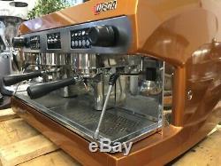 Wega Polaris 2 Groupe Bronze Espresso Machine À Café Commercial Cup Cafe Barista