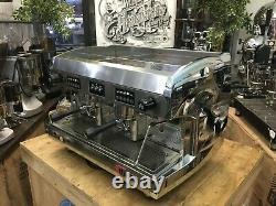 Wega Polaris 2 Groupe Chrome Espresso Machine À Café Commercial Cup Cafe Barista