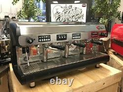 Wega Polaris 3 Group High Cup Black Espresso Coffee Machine Restaurant Cafe Bean