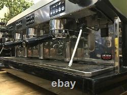 Wega Polaris 3 Groupe Metallic Black Espresso Coffee Machine Restaurant Cafe Latt
