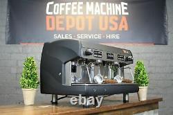 Wega Polaris High Cup 2 Groupe Matte Black Commercial Espresso Machine