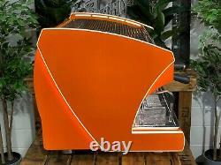 Wega Polaris Tron 2 Groupe Orange Tout Nouveau Espresso Coffee Machine Commercial
